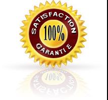 100 % satisfaction garantie