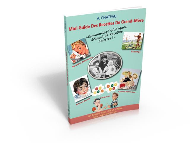 Mini Guide Des Recettes De Mon Arrière Grand-Mère Eugénie